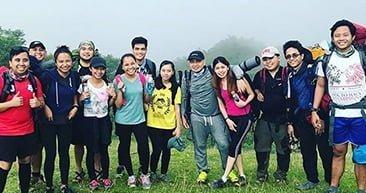 A group of Live guys in Manila had lots of fun and adventure in their Tarak Ridge hike. #WeAreKambi