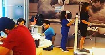 Annual health check in Manila. #HealthisWealth #WeAreKambi @ Kambi Philippines