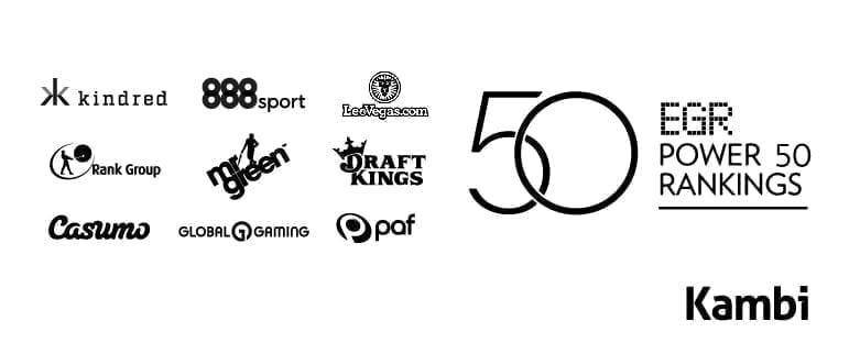 Record nine Kambi-powered operators ranked inside Power 50