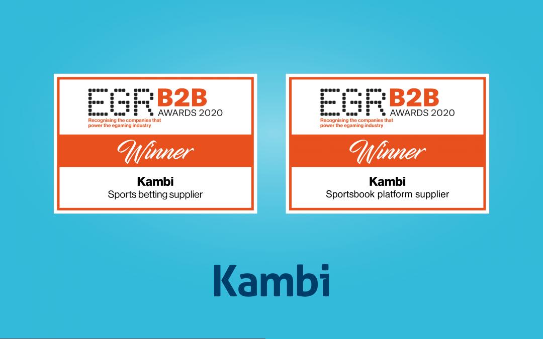 Kambi secures double EGR B2B Awards win