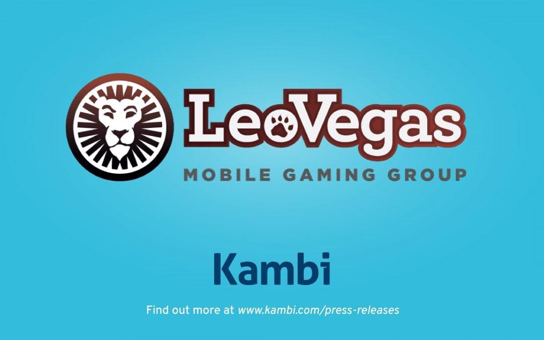 Kambi and LeoVegas agree long-term partnership extension