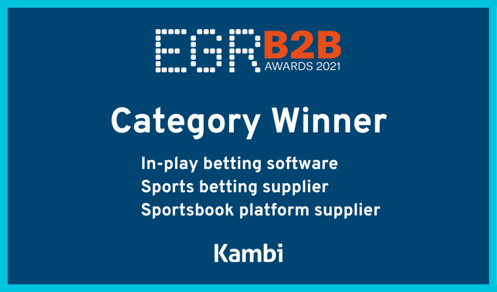 Kambi named world's leading sportsbook by peers at industry awards